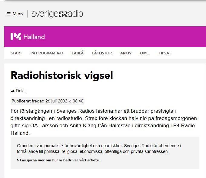 Radiovigsel bild